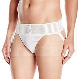 10MD Champion Sports Mens Athletic Supporter White