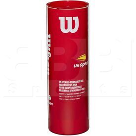 T1376 Wilson Red Tennis Ball Can/3