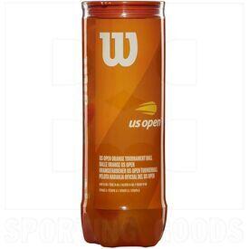 T1377 Wilson Contenedor de 3 Bolas de Tenis Naranja