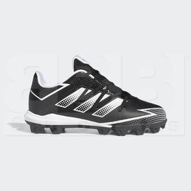 EG7624-3.5Y Adidas Afterburner Kids Cleat MD Black