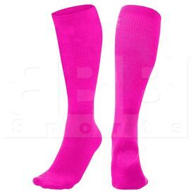 SK3-NPK Champion Athletic Multi Sports Socks Neon Pink (Pair)