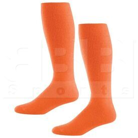 328030.029.L High Five Athletic Knee-Length Socks Pair Orange