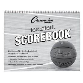 BKSB Champion Sports Basketball Scorebook