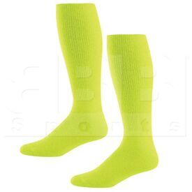 328030.096.L High Five Athletic Knee-Length Socks Pair Lime