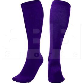 SK3-PU Champion Athletic Multi Sports Socks Purple (Pair)