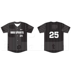 BSSFBBJ BBB Sports Sublimated Full Button Baseball Jersey
