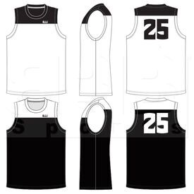 BSSRCCJ BBB Sports Sublimated Reversible Crew Neck Court Jersey