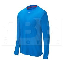 350502.5252.03.XS Mizuno Comp Long Sleeve Crew Neck Shirt Royal
