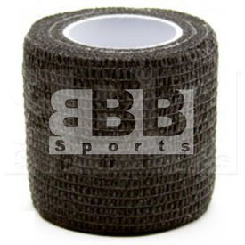 "BBB Sports Athletic Cohesive Wrap Tape 2"" Inch Black"