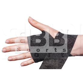 "CT01 BBB Sports Athletic Cohesive Wrap Tape 2"" Inch Black"
