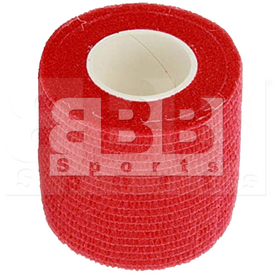 "BBB Sports Athletic Cohesive Wrap Tape 2"" Inch Red"
