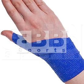 "BBB Sports Athletic Cohesive Wrap Tape 2"" Inch Royal"