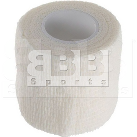 """CT04 BBB Sports Athletic Cohesive Wrap Tape 2"""" Inch White"""
