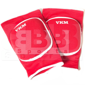 VKPMRD VKM Volleyball Knee Pads Athletic Red