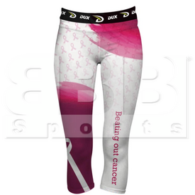 DCCPBF Dux Sports Pantalon de Comprension de Cancer para Mujer