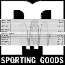 20590F2 Franklin Guantillas para Bateo CFX Pro Beisbol /Softbol Negro