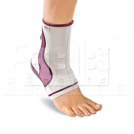 40994 Mueller Lifecare for Her - Contour Ankle - Plum 1-Count Box Extra Large