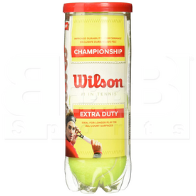T1001 Wilson Championship Extra Duty Tennis Ball (3 Ball Can)