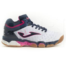 V.BLOKLS-902-8 Joma V.Blok Women's Indoor Shoes White/Pink/Navy