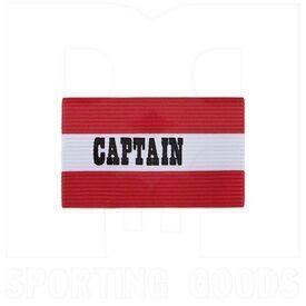 CAP-SC Champion Sports Bandas de Brazo de Capitán de Fútbol Adulto Rojo/Blanco