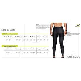CP2214 Dux Sports Fade-Out Compression Thigh Pant