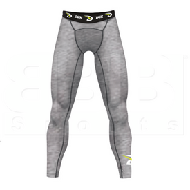 CP2214YL Dux Sports Fade-Out Compression Thigh Pant