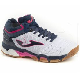 Joma V.Blok Women's Indoor Shoes White/Pink/Navy
