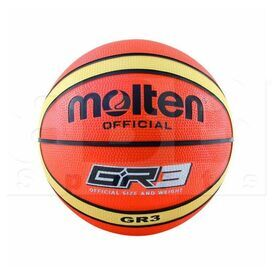 GR3-OI Molten GR3 Indoor/Outdoor Rubber Basketball Size 3