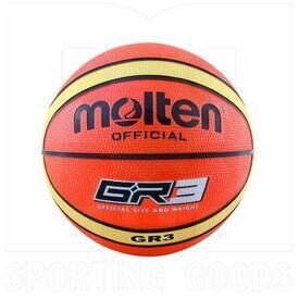 GR3-OI Molten GR3 Indoor/Outdoor Rubber Basketball Size 3