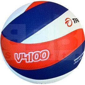 Tamanaco V4100 PU Volleyball Indoor White/Royal/Scarlet Size 5
