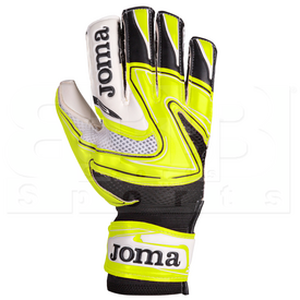 400452.060.8 Joma Goalkeeper Gloves Halter Yellow Fluor/Black Pair