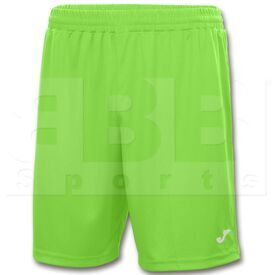 100053.020 Joma Short Nobel Polyester Dry MX Green Fluor