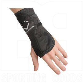 V154-SM Evoshield Sliding Wrist Guard w/ Adjustable Elastic Band Left Hand Black
