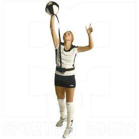 VBPAL Tandem Sport Cordón Elástico Ajustable con Correa de Cintura para Entrenamiento de Voleibol