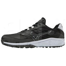 320573.9000.17.1200 Mizuno Dominant All Surface Women's Turf Shoe Black White