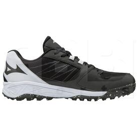 320573.9000 Mizuno Dominant All Surface Women's Turf Shoe Black White