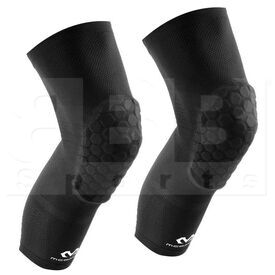 6448-BK-XL McDavid Elite Hex Leg Sleeves Black Pair