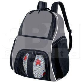 327850.U73 High Five Backpack for Basketball/Bowling/Soccer/Volleyball  Graphite/Black/White