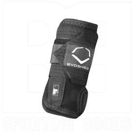 Evoshield Sliding Wrist Guard w/ Adjustable Elastic Band Left Hand Black