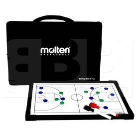 BSB Molten Basketball Strategy Board Coach Black