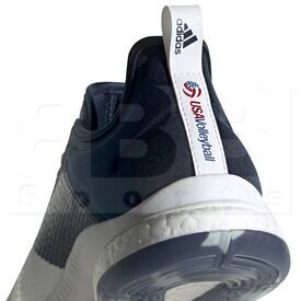 D97836-9 Adidas Crazyflight X 3 USA Volleyball Women's Shoes Cloud White/Collegiate Navy/ Power Red
