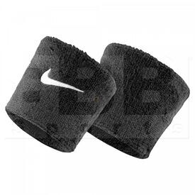 AC0009-001 Nike Swoosh Sweat Wristband Black