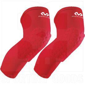 6446R-SC McDavid Rodilleras de Protección para Piernas Hexpad Par Rojo