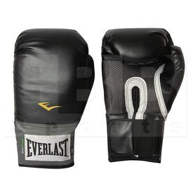 1200015 Everlast Pro Style Training Boxing Gloves 16oz Black