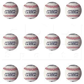 "RL850 Rawlings Official League Undersized Solid Cork Center w/ Raised Seams Baseball 8.5"" Dozen"