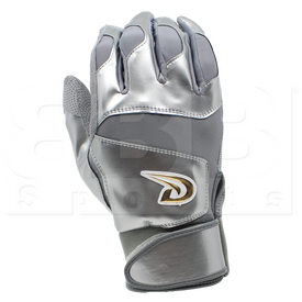 BG2814XXL Dux Guantes de Bateo de Béisbol / Softbol Deportivo Future Collection Adulto Gris