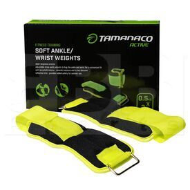 IR97811-0.5KGS Tamanaco Soft Ankle Wrist Weight 0.5 Kg / 1.1 Lbs (Pair)
