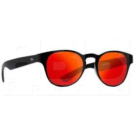 ZZ-EY-UV-MIRA-BK-RD Zol Mira Sunglasses Black w/ Red Lens