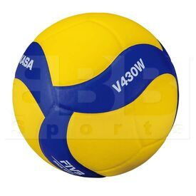 V430W Mikasa V430W Volleyball Ball Yellow/Blue Size 4