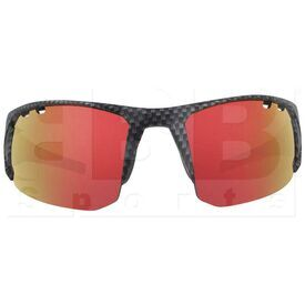 ZZ-EY-UV-SPRINT-CAR-RD Zol Sprinter UV Protection Sunglasses Carbon w/ Red Lens